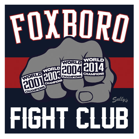 Foxboro Fight Club 5x5 Sticker