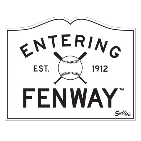 Entering Fenway Sticker