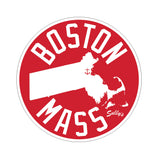 Boston Mass Sticker