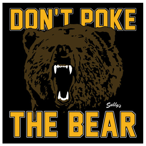 Don't Poke the Bear Sticker