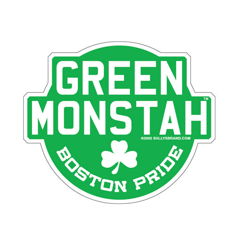 Green Monstah - Die-Cut Sticker