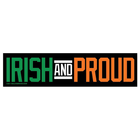 Irish and Proud Sticker