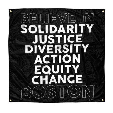 Believe In Boston Bail Fund Benefit Banner