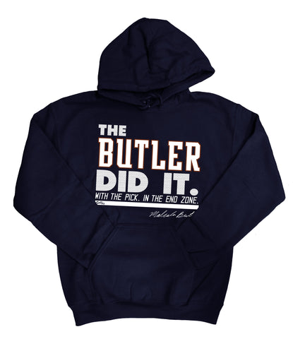 The Butler Did It - Navy Sweatshirt