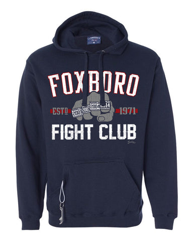 Foxboro Fight Club Tailgater Hoodie