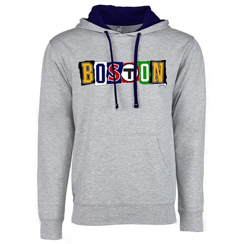 Boston - Ransom Note - Lightweight Hoodie