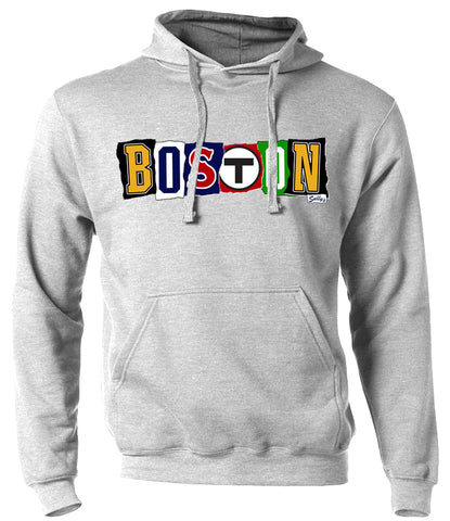 Boston - Ransom Note - Sweatshirt