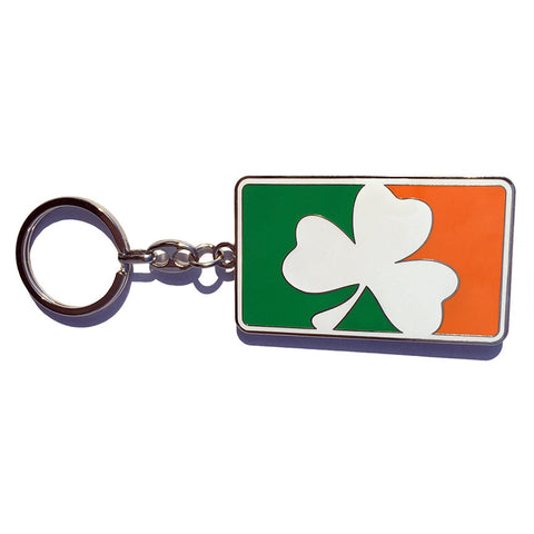 Sully's Irish Clover Flag Keychain