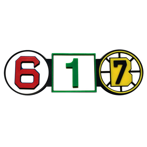 617 Retired Numbers PVC Magnet