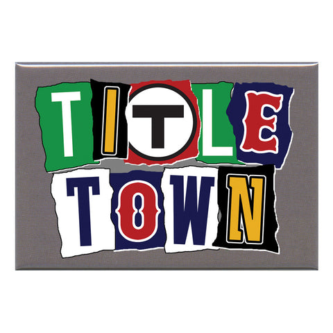 "Title Town 2x3"" Magnet"