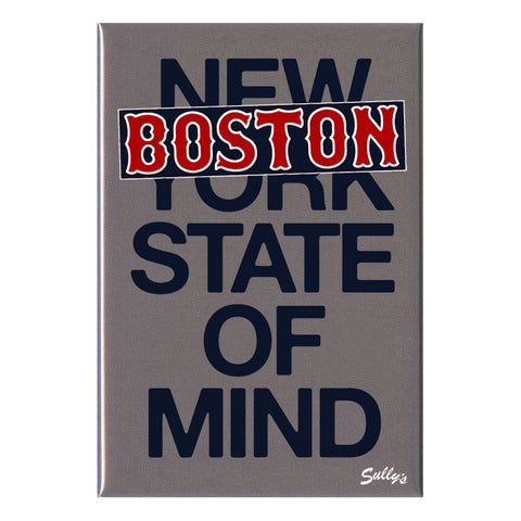"BOSTON State of Mind - 2x3"" Magnet"