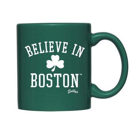 Believe In Boston (Classic Shamrock) Coffee Mug