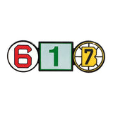 617 Retired Numbers Enamel Pin