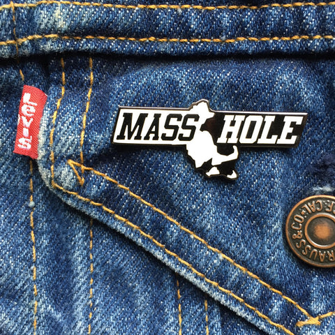 Masshole Commonwealth Enamel Pin