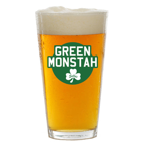 Green Monstah Pint Glass