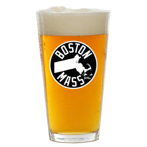 Boston, Mass Pint Glass
