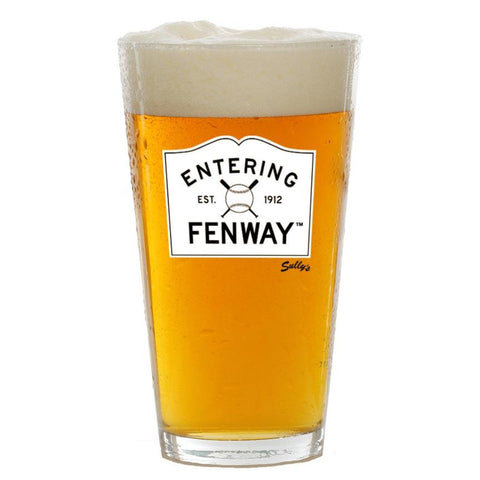Entering Fenway Pint Glass