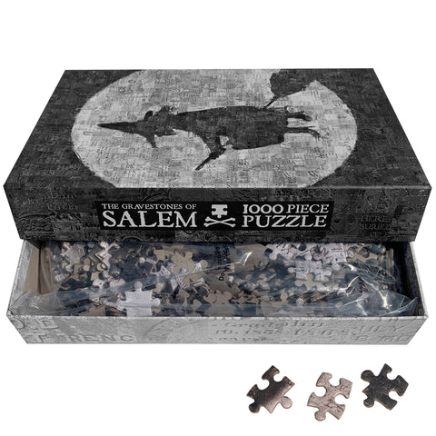 The Gravestones of Salem 1,000 Piece Puzzle