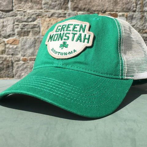 Green Monstah Mesh Trucker Hat