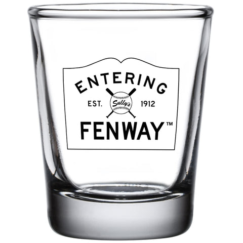 Entering Fenway Shot Glass