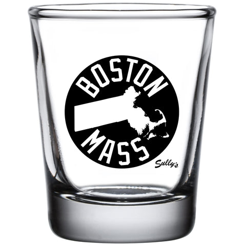Boston, Mass Shot Glass