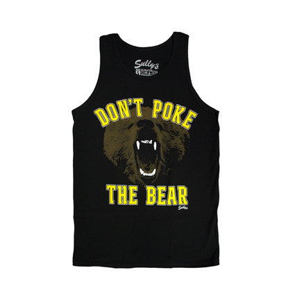 Don't Poke The Bear Tank Top (Unisex)