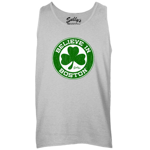 Believe in Boston - Basketball Shamrock - Unisex Tank Top