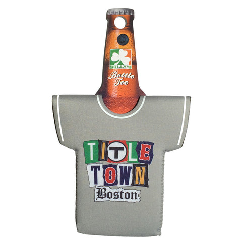 Title Town - Boston Ransom Note Coozie