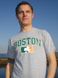 Boston - Sully's Brand Shamrock Flag T-Shirt