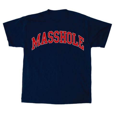 Masshole® - Arched Red T-Shirt