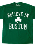 Believe in Boston - Classic Shamrock T-Shirt