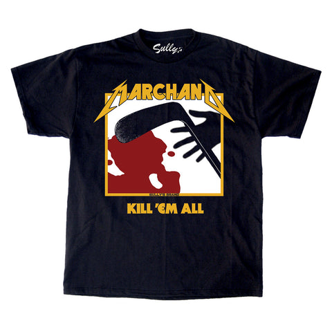 Marchand - Black and Gold T-Shirt
