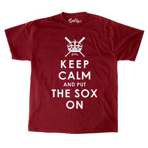 Keep Calm and Put The Sox On T-Shirt