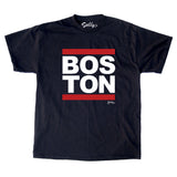 Boston - Red Bar T-Shirt