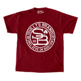 Sully's Brand Believe in Boston - Cardinal and White T-Shirt