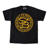 Sully's Brand Believe in Boston - Black & Gold T-Shirt