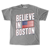 Believe in Boston - Red, White, And Blue T-Shirt
