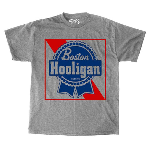 Boston Hooligan - Blue Ribbon T-Shirt
