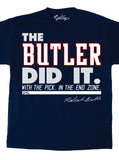 The Butler Did it - Navy Shirt
