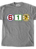 617 Retired Numbers - Gray