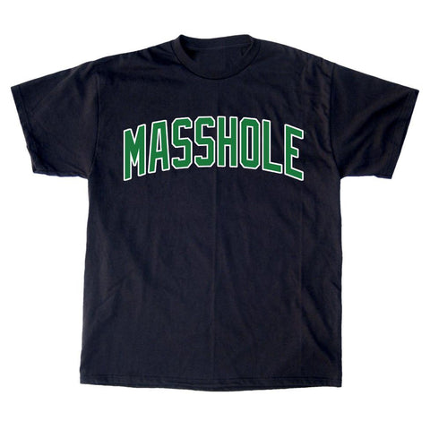 Masshole® - Arched Green T-Shirt