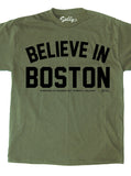 BELIEVE IN BOSTON (In Memory Of Thomas J. Sullivan) BENEFIT T-Shirt