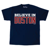 Believe in Boston Navy T-Shirt