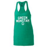 Green Monstah - Women's Racerback Tank Top
