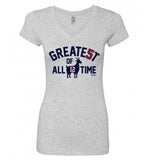 Greate5t Of All Time Women's V Neck T-Shirt