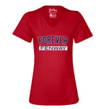 Forever Fenway Relaxed Fit Women's V Neck