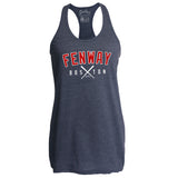 Fenway Crossed Bats Women's Racerback Tank Top
