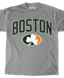 Boston - Oval Shamrock Logo T-Shirt