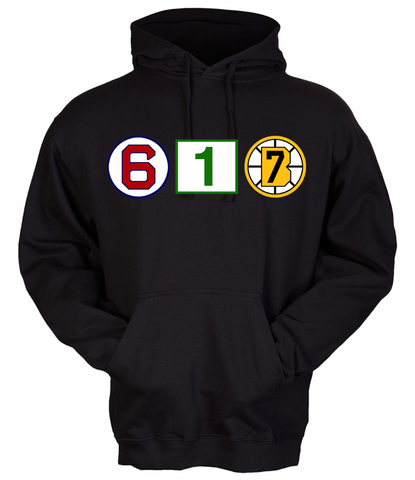 617 Retired Numbers - Black Sweatshirt