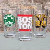 Don't Poke The Bear Pint Glass